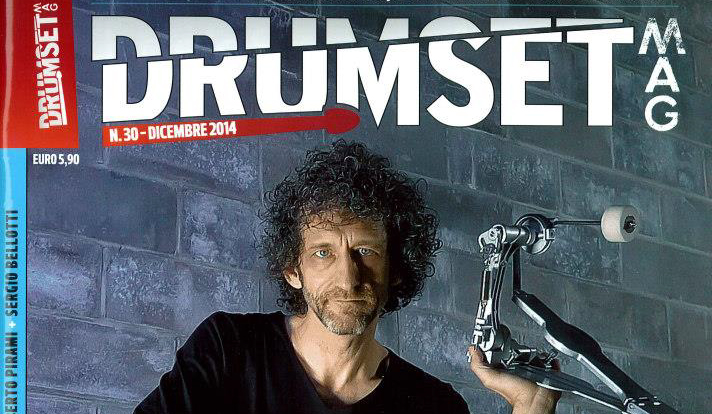 DrumsetMag Intervista a Ricky Turco
